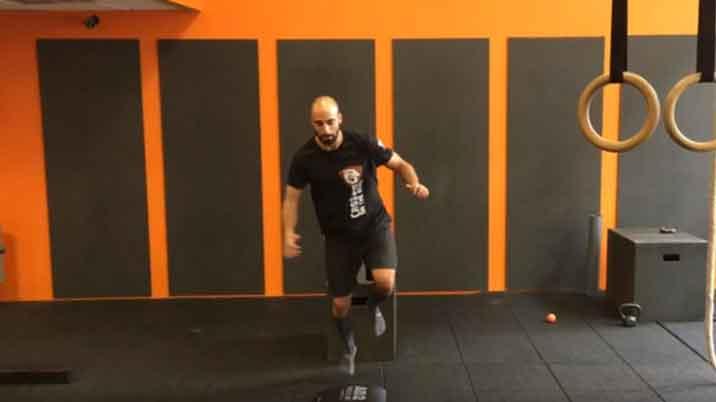 stabilisation du genou et de la cheville en vidéo